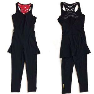 Sapopa Italian athletic wear racer back jumpsuit S